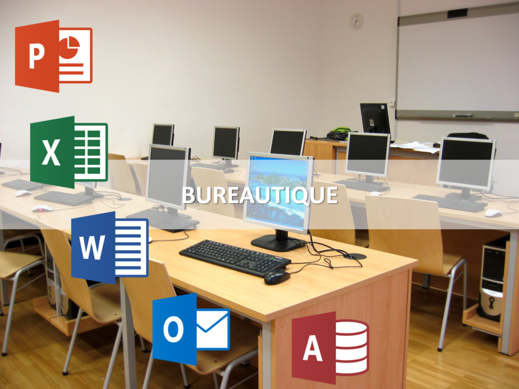 mes actions de formations Pack Office